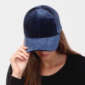 🆕Teal | Velvet Baseball Hat
